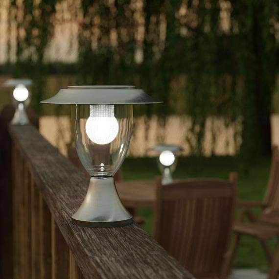 Lanterne solaire à colonne LED
