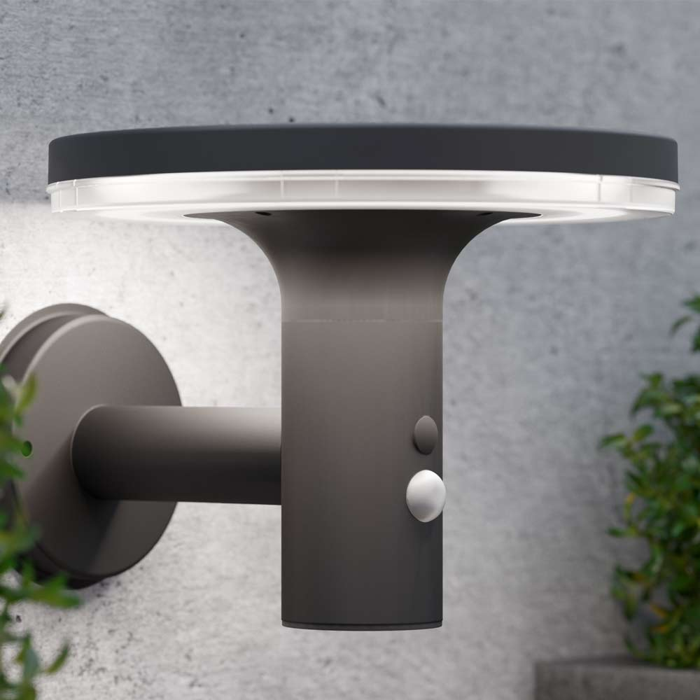 Applique solaire LED haut-parleur Bluetooth