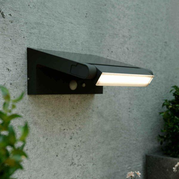 Applique solaire LED astron - Détecteur de mouvement - Orientable (180 °)